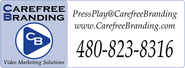 Carefree Branding Business Card